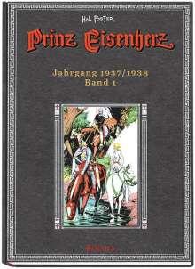 Harold R. Foster: Prinz Eisenherz. Hal Foster Gesamtausgabe - Band 1: Jahrgang 1937/1938, Buch