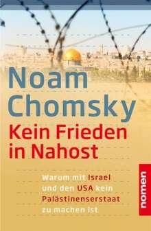 Noam Chomsky: Kein Frieden in Nahost, Buch