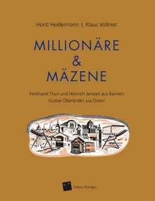 Horst Heidermann: Millionäre & Mäzene, Buch