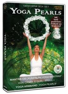 Canda & Guru Atman: Yoga Pearls Geschenk Box: Mantra CD+Yoga Armband, CD