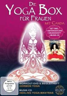 Die Yoga Box für Frauen, 1 DVD und 1 CD