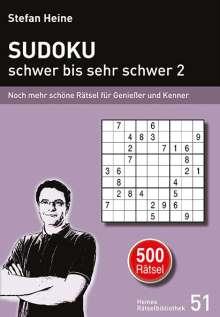 SUDOKU - schwer bis sehr schwer 2, Buch