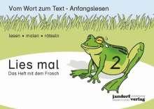 Jan Debbrecht: Lies mal 2 - Das Heft mit dem Frosch, Buch