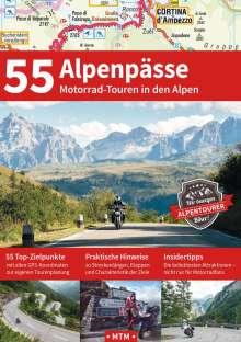 Stephan Fennel: 55 Alpenpässe, Buch