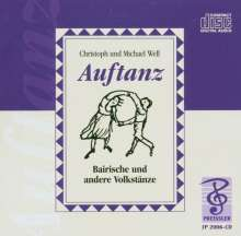 Auftanz,Bairische und andere Volkstänze, 2 CDs
