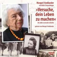Margot Friedländer: Versuche, dein Leben zu machen, 8 CDs