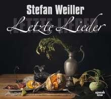 Stefan Weiller: Letzte Lieder, MP3-CD