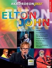 Elton John - Akkordeonpur, Noten