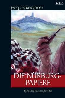 Jacques Berndorf: Die Nürburg-Papiere, Buch
