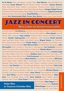 Oskar Riha: Jazz in Concert, Buch