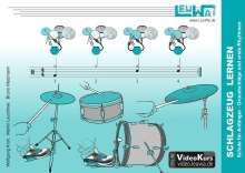 Wolfgang Kroh: Schlagzeug lernen, Schule für Anfänger, Buch