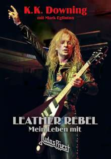 K. K. Downing: Leather Rebel, Buch