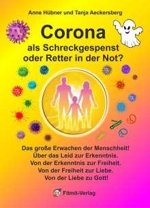 Tanja Aeckersberg: Corona als Schreckgespenst oder Retter in der Not?, Buch