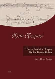Hans-Joachim Hespos: Höre Hespos!, Noten
