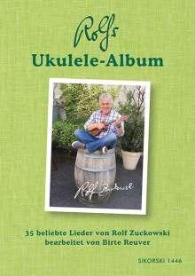 Rolf Zuckowski: Rolfs Ukulele-Album, Buch