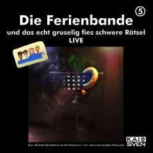 Die Ferienbande: ...und das echt gruselig fies...Live, 2 CDs