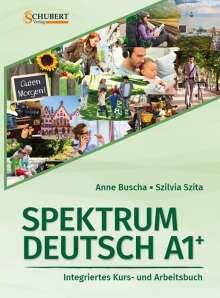 Anne Buscha: Spektrum Deutsch A1+: Integriertes Kurs- und Arbeitsbuch für Deutsch als Fremdsprache, Buch