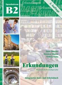Anne Buscha: Erkundungen Deutsch als Fremdsprache B2: Integriertes Kurs- und Arbeitsbuch, Buch