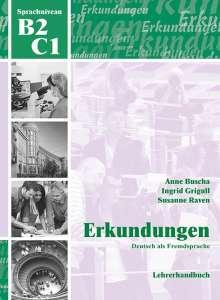 Anne Buscha: Erkundungen Deutsch als Fremdsprache B2/C1: Lehrerhandbuch, Buch