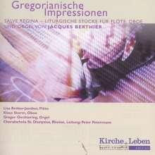 Jacques Berthier (1923-1994): Salve Regina - Gregorianische Impressionen, CD