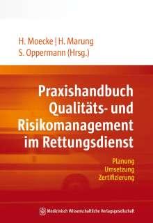 Praxishandbuch Qualitäts- und Risikomanagement im Rettungsdienst, Buch