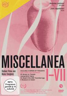 Miscellanea 1-7, DVD