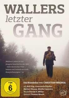 Wallers letzter Gang, DVD