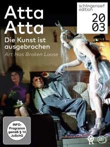 Atta Atta - Die Kunst ist ausgebrochen, 3 DVDs