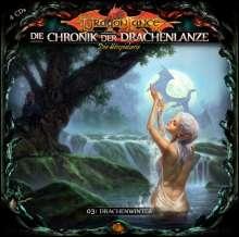 David Holy: Die Chronik der Drachenlanze 03 - Drachenwinter, 4 CDs