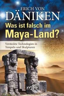 Erich von Däniken: Was ist falsch im Maya-Land?, Buch