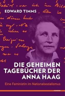 Edward Timms: Die geheimen Tagebücher der Anna Haag, Buch