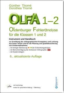 Dorothea Thomé: OLFA 1-2: Oldenburger Fehleranalyse für die Klassen 1 und 2, Buch