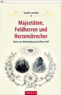 Sandra Lembke: Majestäten, Feldherren und Herzensbrecher, Buch