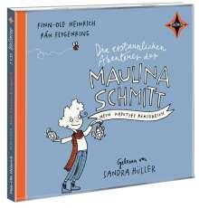Finn-Ole Heinrich: Die erstaunlichen Abenteuer der Maulina Schmitt. Mein kaputtes Königreich, 2 CDs