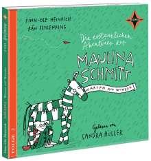 Finn-Ole Heinrich: Die erstaunlichen Abenteuer der Maulina Schmitt. Warten auf Wunder, 2 CDs