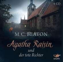 M. C. Beaton: Agatha Raisin 01 und der tote Richter, 4 CDs