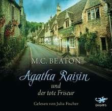 M. C. Beaton: Agatha Raisin und der tote Friseur, CD