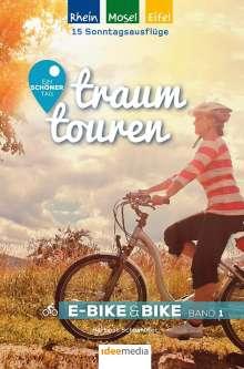 Hartmut Schönhöfer: Traumtouren E-Bike & Bike Band 1, Buch