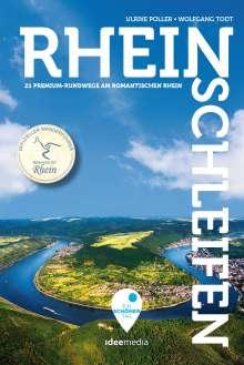 Ulrike Poller: Rheinschleifen - Offizieller Wanderführer. 22 Premium-Rundwege am romantischen Rhein, Buch