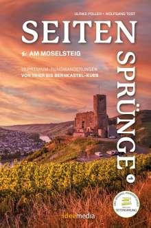 Ulrike Poller: Moselsteig Seitensprünge Band 1 - Die schönsten Rundwege zwischen Trier und Bernkastel-Kues, Buch