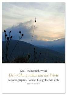 Saul Tschernichowski: Dein Glanz nahm mir die Worte, Buch