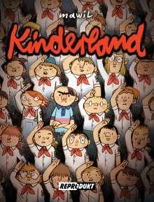Mawil: Kinderland, Buch