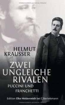 Helmut Krausser: Zwei ungleiche Rivalen, Buch