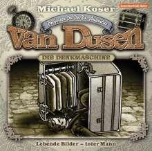 Michael Koser: Professor van Dusen 10: Lebende Bilder - toter Mann, CD