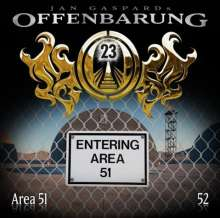 Jan Gaspard: Offenbarung 23 - Folge 52: Area 51, CD
