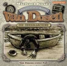 Michael Koser: Professor van Dusen - Van Dusens erster Fall, 1 Audio-CD, CD
