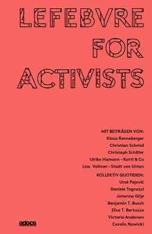 Elisa T. Bertuzzo: Lefebvre for Activists, Buch