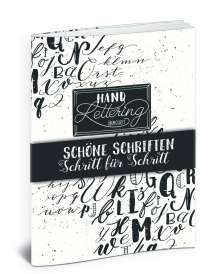 Katja Haas: Handlettering Übungsheft, Buch