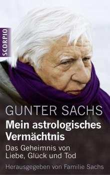Gunter Sachs: Mein astrologisches Vermächtnis, Buch