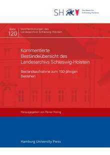 Kommentierte Beständeübersicht des Landesarchivs Schleswig-Holstein, Buch